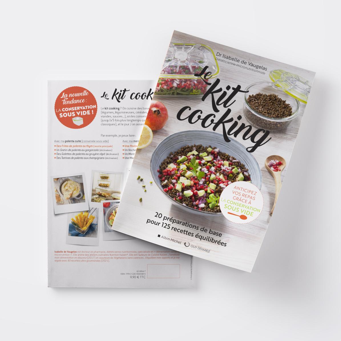 Livre kit cooking